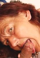 Granny sex with bound man