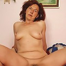 The vibrant mature redhead likes the young dick inside her dripping wet pussy