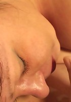 The tasty mature babe helps her son in law get off with immensely pleasurable fucking