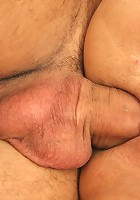 He cheats on his fiancee with his mother in law and her old pussy is very nice to be inside of
