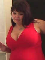 Mature chick finds her son in law masturbating and wants to help his cock cum hard