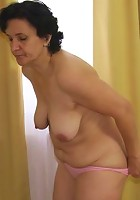 She loves his big cock fucking her pussy when she gets on top and he goes deep
