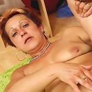 Granny with a great body gets fucked by the young man and his dick does wonderful things