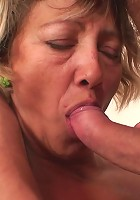 She's a cock craver and his young and hard meat makes her feel amazingly good during sex