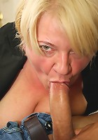 Naughty grandma is crazy for cock and that gets even stronger when she gets drunk like today