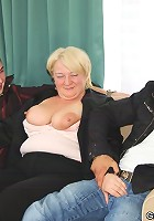 Naughty grandma gets drunk with them and then gets fucked once they get her back home