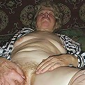 amateur granny showing off at home