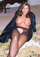 amateur legs nylons stockings home video