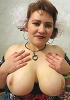 Teen chick and her horny boyfriend learn threesome sex from glamorous mature woman