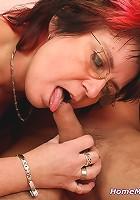 Skilled mature has sex