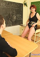 Student and his horny professor
