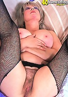 Busty blonde milf gets fucked hard