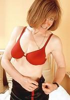 Redhead mom gets naughty