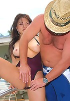 check out this banging big tits hot ass bikini babe get fucked in these sling shot fucking big tits outdoor poolside pcis