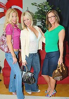 dildos fly out of these hot divorced milfs purses in this amazing lesbian sex fuck party