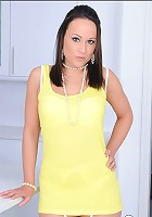Nylons brunette lucy
