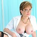 Stunning milf nurse