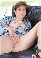 Masturbation in silk