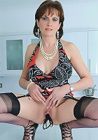 Dildo riding milf