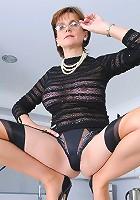 Nylon milf mistress