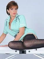 Sexy mature nurse
