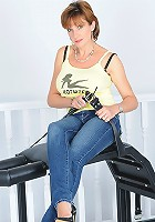 Tight jeans hot wife