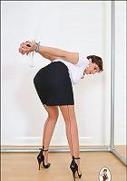 Business lady bound