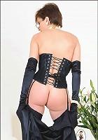 Mature corset mistress