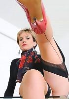 High heels mature