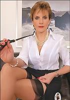 Mature leg mistress