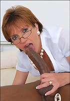 Milf and black cock