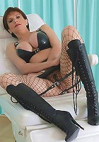Knee boots milf mistress